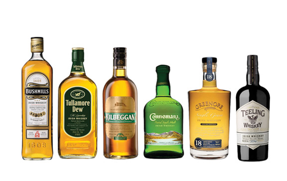 Irish-Whiskey-Bottles-Collection