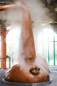 The new Tullamore Distillery Still House 3