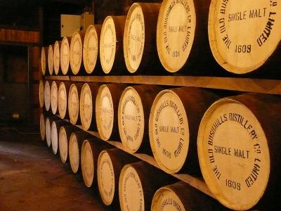 Bushmills - Irish Whiskey - Warehouse