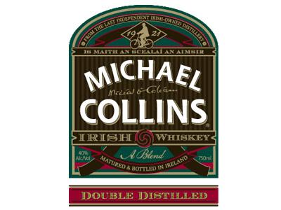 Michael Collins Irish Whiskey Logo