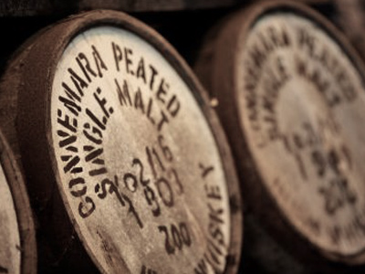 Irish Whiskey Connemara Barrels