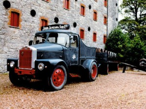 Irish Whiskey Jameson Truck