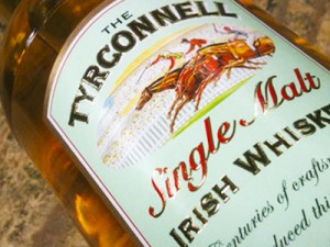 Irish Whiskey Tyrconell Bottle Label