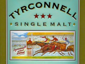Irish Whiskey Tyrconell Label