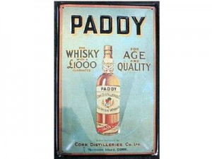 Whiskey irlandais Paddy Blended
