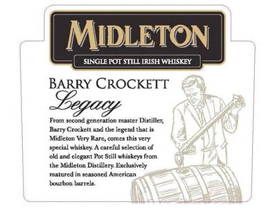 Midleton Barry Crockett Legacy Irish Whiskey