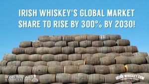 Une augmentation globale de 300% à l'horizon 2030 pour le whiskey irlandais