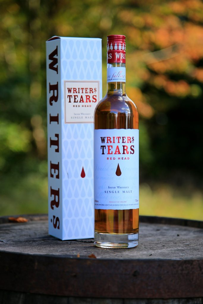 Writers' Tears Red Head Walsh Whiskey Irish Whiskey France