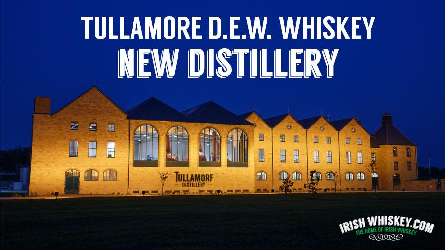 La nouvelle distillerie de Tullamore DEW