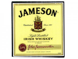 Irish Whiskey Jameson Label