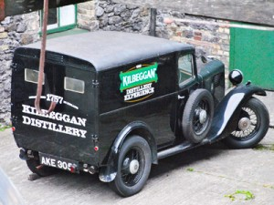Irish Whiskey Kilbeggan Truck