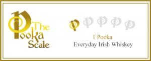 One Pooka Irish Whiskey
